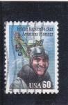 Stamps United States -  PIONERO DE LA AVIACIÓN