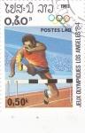 Stamps : Asia : Laos :  JUEGOS OLÍMPICOS DE LOS ANGELES,84