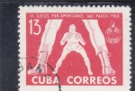 Sellos de America - Cuba -  JUEGOS PANAMERICANOS SAO PAULO