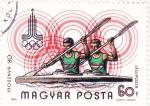 Sellos de Europa - Hungría -  OLIMPIADA DE MOSCÚ'80