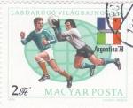 Sellos de Europa - Hungría -  F U T B O L-ARGENTINA'78