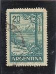 Sellos del Mundo : America : Argentina : LAGO NAHUELHUAPI