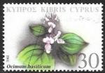 Sellos del Mundo : Asia : Chipre : 1004 - Planta medicinal