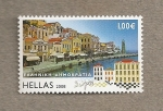 Stamps Greece -  Paisaje de Grecia