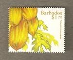 Sellos de America - Barbados -  Papaya