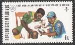 Sellos de Asia - Maldivas -  First world conference boy scouts Africa