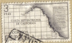 Stamps : Europe : Spain :  Costa de California - Forjadores de America