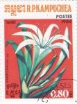 Stamps : Asia : Cambodia :  FLORES- himenoballis