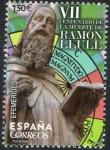 Sellos de Europa - España -  5052 - Efemérides. VII Centenario de la muerte de Ramón Llull.