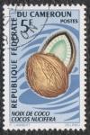 Sellos del Mundo : Africa : Camerún : cocos nucifera