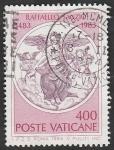 Stamps Vatican City -  744 - 500 Anivº del nacimiento de Raphael