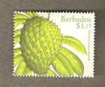 Stamps America - Barbados -  Annona muricata