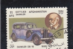 Sellos del Mundo : Asia : Afganistán : COCHE DE EPOCA- DAIMLER DB 18