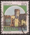 Sellos de Europa - Italia -  Castello Isola Capo Rizzuto  1980  90 liras