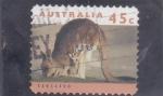 Sellos de Oceania - Australia -  C A N G U R O