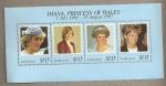 Stamps America - Barbados -  Diana, Princesa de Gales