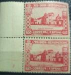 Sellos de Europa - España -  Pabellon de Argentina