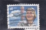 Stamps United States -  PIONERA AVIACIÓN- JACQUELINE COCHRAN