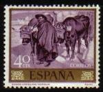Sellos de Europa - España -  ESPAÑA 1964 1567 Sello Nuevo Pintor Joaquin Sorolla Boyero Castellano
