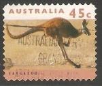 Sellos de Oceania - Australia -  Kangaroo