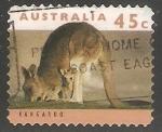 Stamps Australia -  Kangaroo