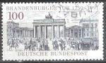 Sellos de Europa - Alemania -  Bicentenario de la Puerta de Brandenburgo (Berlín).