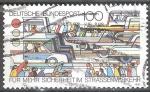 sellos de Europa - Alemania -  Para mayor seguridad vial.
