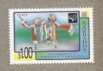Stamps America - Barbados -  50 Aniversario Organizacion Estados Americanos