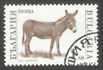 Sellos de Europa - Bulgaria -  Donkey (Equus asinus asinus)