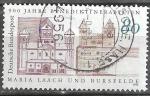 Sellos de Europa - Alemania -  900 aniversario de las abadías benedictinas Maria Laach y Bursfelde.