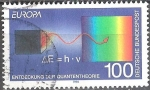 Sellos del Mundo : Europa : Andorra : Europa- El descubrimiento de la teoría cuántica.