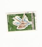 Stamps Africa - Djibouti -  APORRHALS PES GALLINEA