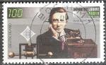 sellos de Europa - Alemania -   100 Años de Radio 1895-1995, Guglielmo Marconi.