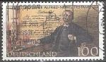 Sellos de Europa - Alemania -  100 años Alfred Nobel Testamento.