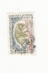Stamps Africa - Djibouti -  PERODICTICUS POTTO