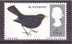 Stamps United Kingdom -  serie- pajaros