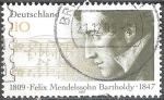 Sellos de Europa - Alemania -  150 años de Felix Mendelssohn (Compositor).