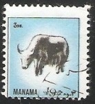 sellos de Asia - Bahrein -  yak