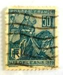 Sellos de Europa - Francia -  orleans