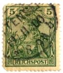 Sellos de Europa - Alemania -  reichspost