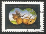 sellos de Europa - Hungría -  Red Deer (Cervus elaphus)