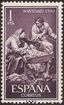 Stamps Spain -  Navidad.