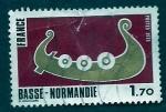 Sellos de Europa - Francia -  barca normanda
