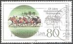 sellos de Europa - Alemania -  125 años hipódromo Hoppegarten en Berlín.