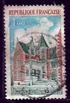 sellos de Europa - Francia -  paisage urbano
