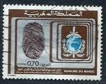 Stamps Morocco -  50 aniversario (INTERPOL)