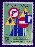 Stamps Morocco -  seguridad vial