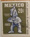 Sellos de America - México -  olimpiadas de 68