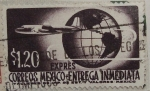 Stamps Mexico -  express