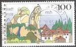 sellos de Europa - Alemania -  Paisajes.Suiza de Franconia.